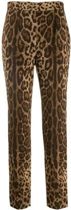 Dolce & Gabbana animal printed trousers