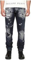 Philipp Plein Straight Cut Deep Jeans Men's Jeans
