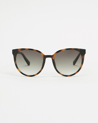 Le Specs Women's Brown Round - Armada - Size One Size at The Iconic
