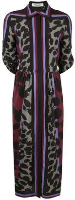 Diane von Furstenberg Sogol silk shirt dress