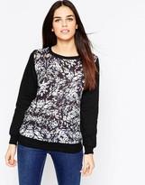 Sugarhill Boutique Gloria Blurred Spot Sweatshirt
