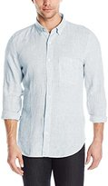 7 For All Mankind Men's Long Sleeve Lightweight Oxford Shirt