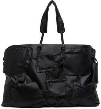 Innerraum SSENSE Exclusive Black Weekend Multi-Compartment Duffle Bag