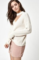 La Hearts Bella Choker Pullover Sweater