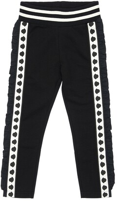 Moncler Logo Bands Cotton Sweatpants