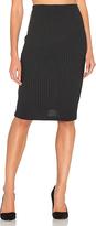 Bella Luxx Plush Rib Tube Skirt