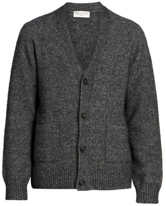 Officine Generale Angora & Wool-Blend Knit Sweater Cardigan