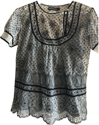 Antik Batik Beige Lace Tops