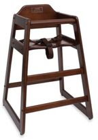 Lipper High Chair in Walnut