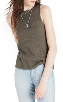 Madewell Women's Circuit Ribbed Tank
