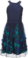 Xtraordinary Big Girls 7-16 Floral-Embroidered Fit-And-Flare Dress