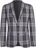 Selected Zero Hyde Single Breasted Blazer Grey