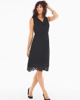 Soma Intimates Venice Hem Sleeveless Short Dress Black
