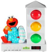 Sesame Street ; Elmo with Pillow Stoplight Sleep Enhancing Alarm Clock