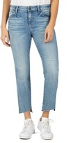 KUT from the Kloth Reese Slanted Ankle Straight Leg Jeans