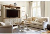 Universal Furniture Moderne Muse Entertainment Console with Deck in Multiple Finishes