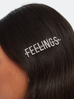 """Thumbnail for your product : Kitsch Feelings"""" Rhinestone Bobby Pin"""