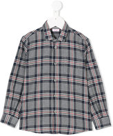 Il Gufo checked shirt