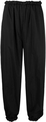 Áeron High-Waisted Drop-Crotch Trousers