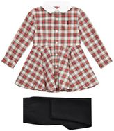 Polo Ralph Lauren Tartan Dress and Leggings Set