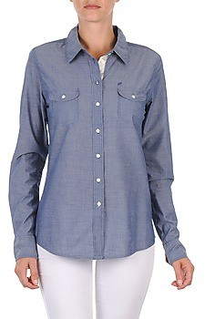 Oxbow E1FARINI women's Shirt in Blue