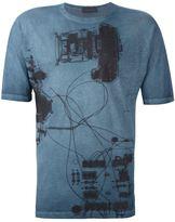 Diesel Black Gold 'Tastersiu X-ray' T-shirt - men - Cotton - S