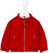 Burberry funnel neck bomber jacket - kids - Cotton/Polyamide/Polyester/Spandex/Elastane - 6 mth