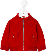 Burberry funnel neck bomber jacket - kids - Polyester/Cotton/Polyamide/Spandex/Elastane - 6 mth