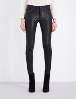 Paige Claudine leather jeans