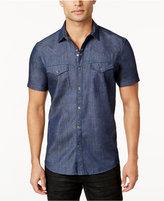 INC International Concepts Men's Chambray Denim Shirt, Created for Macy's