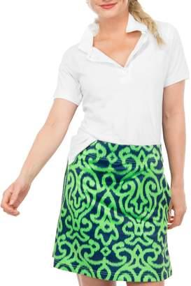 Gretchen Scott Cotton Pique Polo Shirt