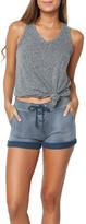 Sundry Lace-Up Shorts