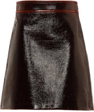 Miu Miu A-line high-rise skirt