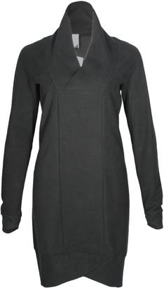 Format POND Black Sweat Fluffy Sweat Dress - XS - Black
