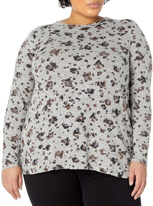 Nic+Zoe Women's Plus Size You've Been Spotted Top