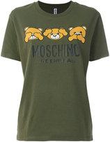 Moschino Teddy Bear Peekaboo print T-shirt