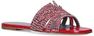 Gina Embellished Loren Thong Sandals