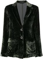 Luisa Cerano velvet look blazer