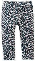 Tea Collection Ditsy French Terry Pants (Baby Girls)