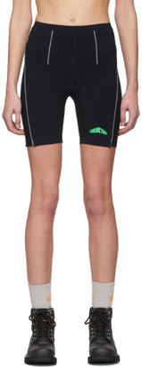 Heron Preston Black Active Biker Shorts