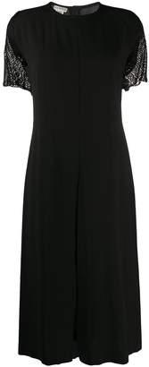 Dries Van Noten Pre Owned 1990s front slit midi dress