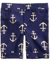 Epic Threads Anchor-Print Bermuda Shorts, Toddler Girls, Created for Macy's