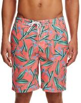 Trunks Swami Tropical Print Board Shorts