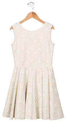 1adc03c72d68b2 Girls Gold Dress - ShopStyle