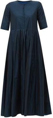 Max Mara S Fez Midi Dress - Womens - Navy