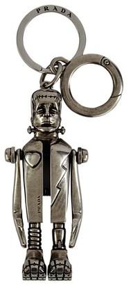Prada Metal key ring