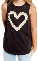 CHASER KIDS - Youth Girl's Daisy Heart Tank