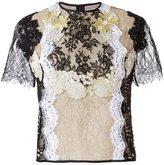 Martha Medeiros - lace blouse - women - Lurex/Polyamide/Viscose - 38