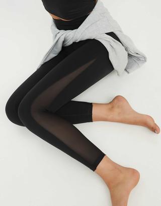 aerie OFFLINE Real Me High Waisted Mesh Legging