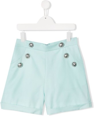 Balmain Kids TEEN smart shorts